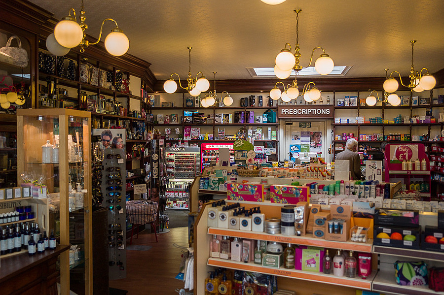 Suffolk 2015 - Southwold - Queen Street Pharmacy | LEICA TRI-ELMAR 28-35-50MM F4 ASPH <br> Click image for more details, Click <b>X</b> on top right of image to close