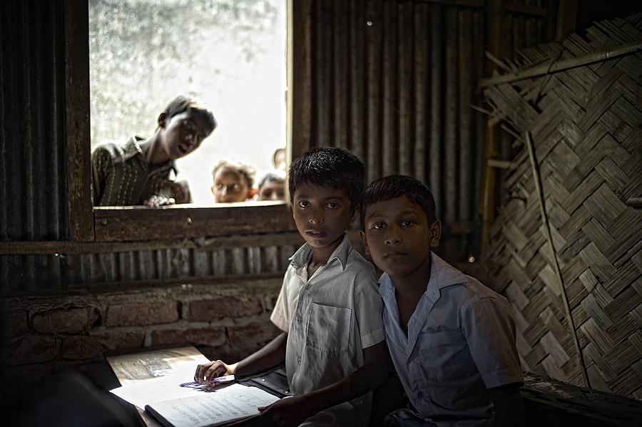 Village School Bangladesh | LEICA SUMMICRON 28MM F2 ASPH <br> Click image for more details, Click <b>X</b> on top right of image to close