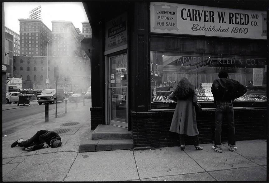 Phila, 1980 | LEICA 35MM F/2.0 SUMMICRON 2ND VERSION 1976 <br> Click image for more details, Click <b>X</b> on top right of image to close