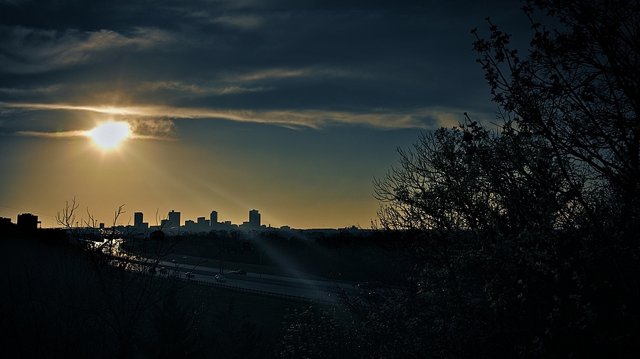Sunset over Fort Worth | LEICA SUMMICRON 35MM F2 ASPH <br> Click image for more details, Click <b>X</b> on top right of image to close