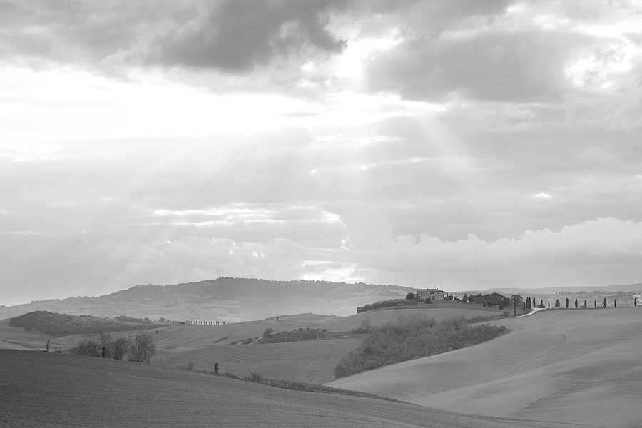 Tuscan landscape | UNKNOWN LENS <br> Click image for more details, Click <b>X</b> on top right of image to close